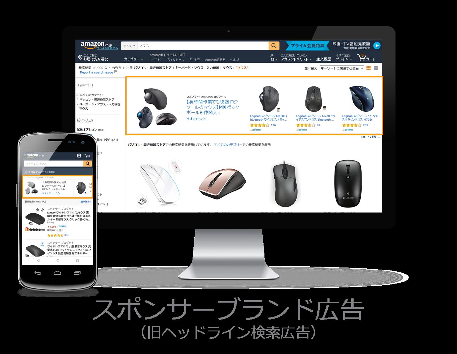 Amazon広告 スポンサーブランド広告