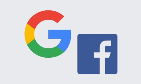 デジタルマーケティング費用の7割は Google と Facebook