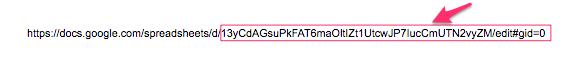 IMPORTRANGE関数 使い方 スプレットシートキー