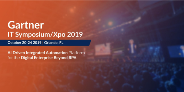 ハイパーオートメーション Gartner IT Symposium/Xpo 2019