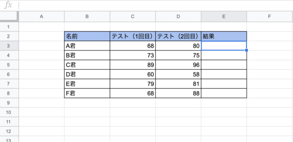 AND・OR・NOT関数 Googleスプレッドシート やり方